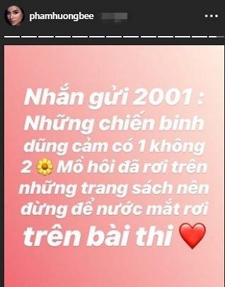 Dàn sao Việt hào hứng gửi lời chúc đến sĩ tử 2001 trong kì thi THPT Quốc gia 2019