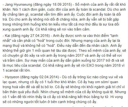 Rùng mình hàng loạt lời tiên tri chính xác về sao Hàn: Vụ chấn động của YG và Song Song trúng phóc, số 5 sốc nhất