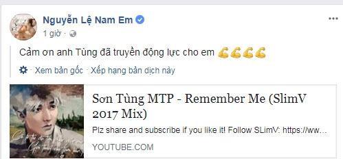 Nam Em bị tố tạo chiêu trò, câu fame vì vô duyên vô cớ lôi Sơn Tùng M-TP vào teaser MV mới