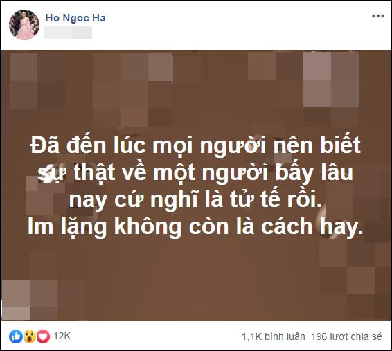 Nghi vấn Hồ Ngọc Hà tuyên bố bóc phốt một nhân vật showbiz, dân mạng réo tên Quế Vân vì phát hiện chi tiết đáng ngờ