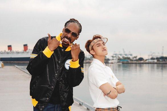 Thiều Bảo Trâm được Snoop Dogg cap màn hình chúc mừng Sơn Tùng MTP khiến Skys fan một phen hết hồn
