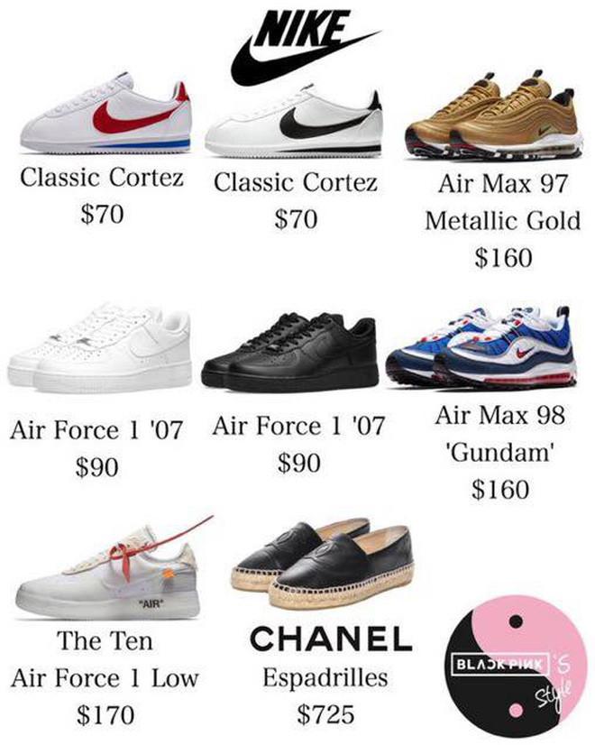 """Không có gì ngoài điều kiện, Lisa mua """"sương sương"""" 64 đôi giày và phân nửa trong số đó là sneaker trắng"""