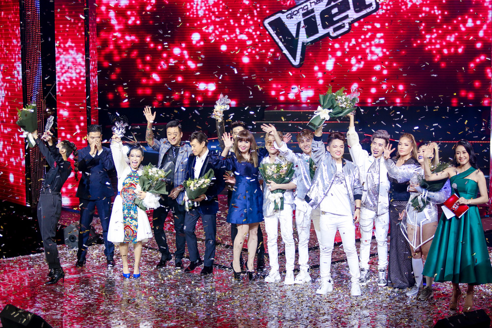 Hoàng Đức Thịnh đội HLV Tuấn Ngọc đăng quang quán quân Giọng hát Việt 2019