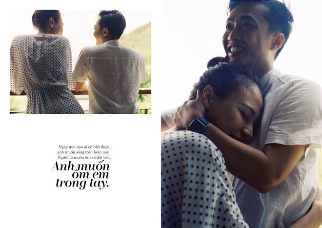 Tan chảy trước bộ ảnh cưới cuối cùng lãng mạn chẳng kém phim ngôn tình của Đàm Thu Trang và Cường Đô La