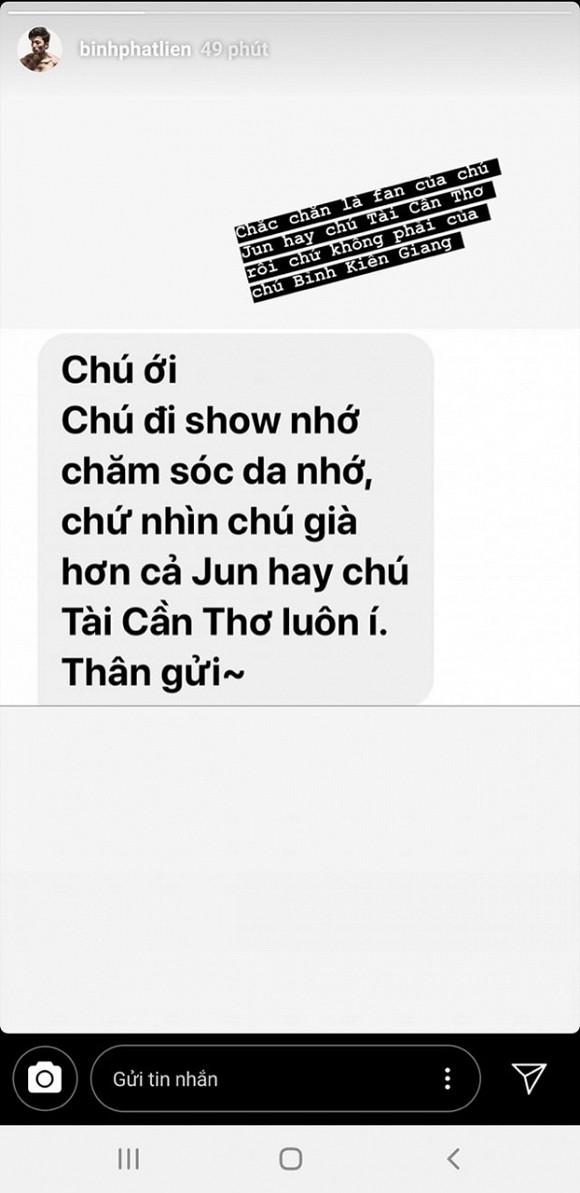 Nổi tiếng là nam thần showbiz, Liên Bỉnh Phát lại bị Ngô Kiến Huy và Jun Phạm lẫn fan chê già như ông chú