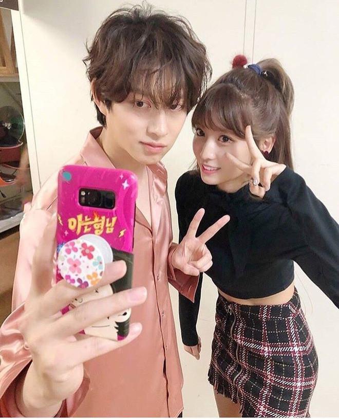 Nghi vấn siêu sao vũ trụ Kim Heechul hẹn hò với mỹ nhân người Nhật Momo (TWICE) được 2 năm!