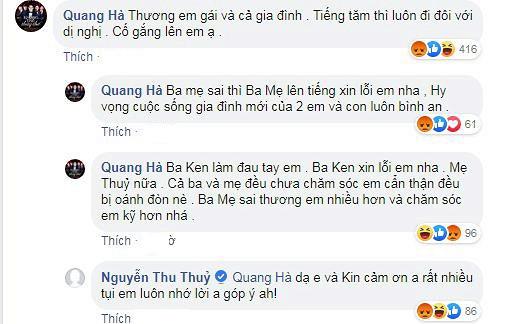 Hết động viên vợ chồng Thu Thủy, Quang Hà lại tiết lộ: Tôi trưởng thành trong các trận đòn roi của mẹ