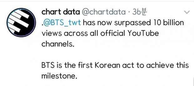 7 chàng trai BTS vừa làm nên lịch sử mới trở thành ngôi sao đầu tiên Kpop gia nhập câu lạc bộ 10 tỷ view YouTube cùng loạt sao US-UK