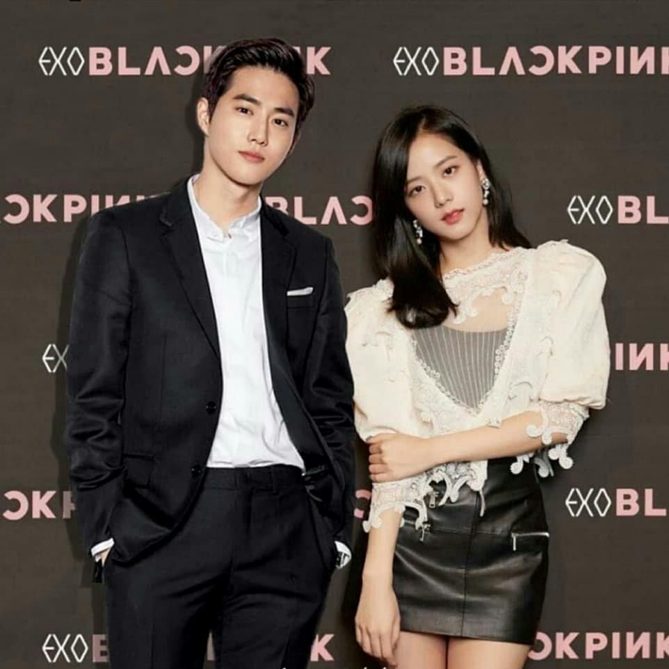 Fans soi ra loạt bằng chứng hẹn hò của Suho (EXO) và Jisoo (BlackPink): Diện đồ đôi đến loạt ảnh lovestagram?