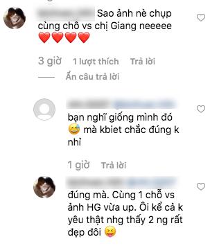 Mặc dù phủ nhận hẹn hò nhưng Hương Giang và soái ca Thế Thịnh vẫn tiếp tục đăng ảnh cùng địa điểm
