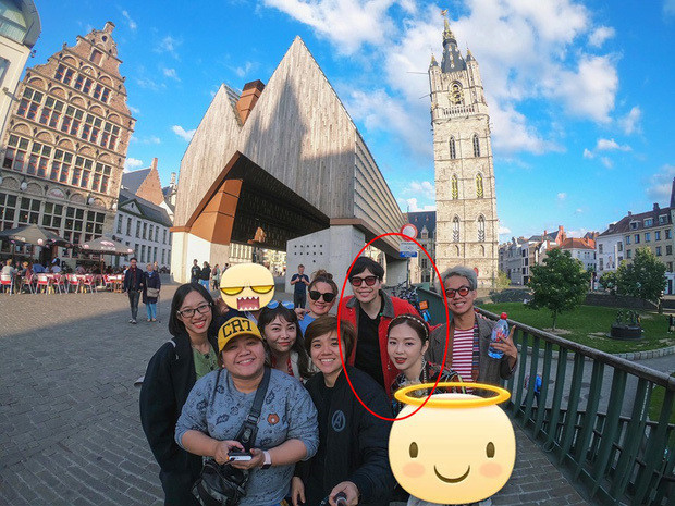 Sau bao đồn đoán cuối cùng Trịnh Thăng Bình cũng công khai ảnh chụp chung cùng Liz Kim Cương tại Châu Âu