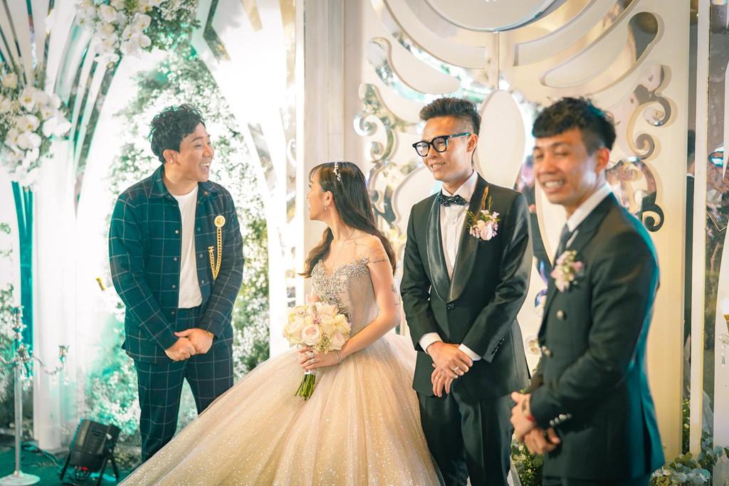 Dàn sao Việt khủng góp mặt trong đám cưới ái nữ đại gia nghìn tỷ Minh Nhựa
