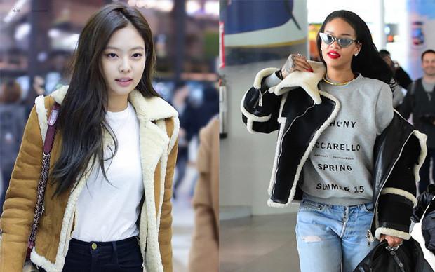 Jennie(BLACKPINK) thân thiết với Rihannatại sự kiện, nhan sắc hai mỹ nhân đúng là không vừa
