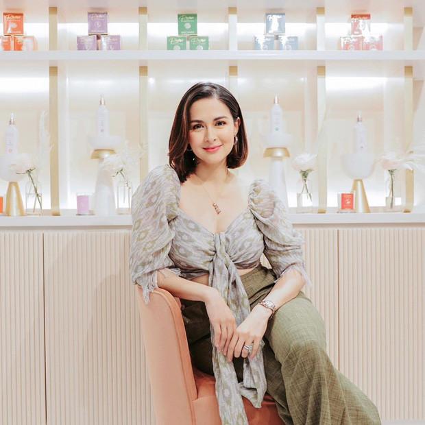 Chỉ đi dự khai trương thôi mà mỹ nhân đẹp nhất Philippines đẹp hết phần thiên hạ