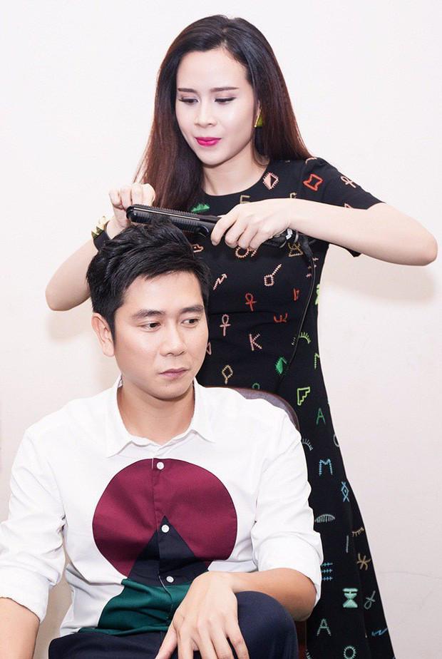 Sau ồn ào ly hôn Hồ Hoài Anh lần đầu lộ diện cùng Lưu Hương Giang và con gái
