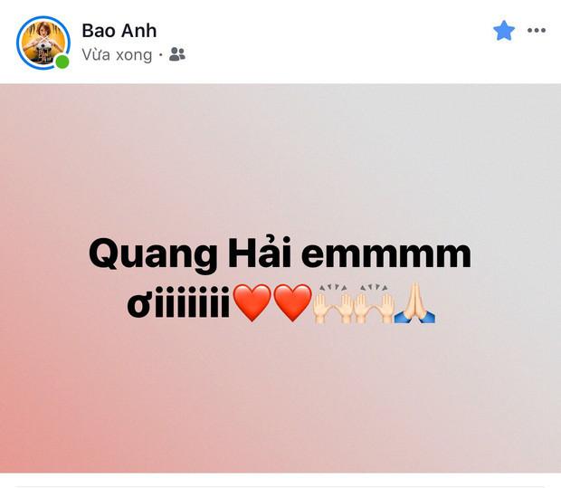 Đông Nhi - Ông Cao Thắng cùng dàn sao Vbiz vỡ oà hạnh phúc trước siêu phẩm mở màn tỷ số 1-0 của Quang Hải