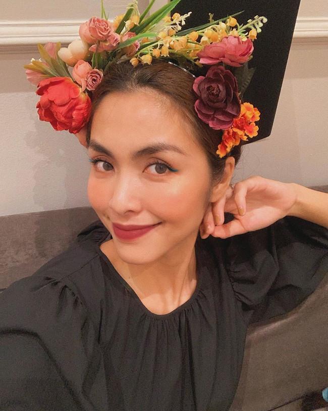 Tăng Thanh Hà xinh đẹp, thần thái ngút ngàn nhưng vẫn không gây chú ý bằng con gái Chloe Nguyễn