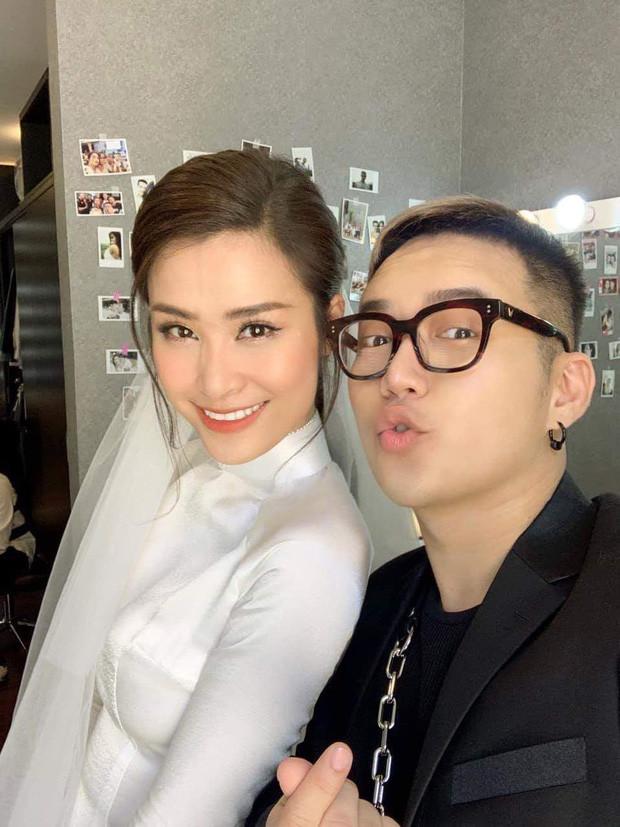 Đông Nhi xuất hiện trong tà áo dài trắng truyền thống khoe vẻ đẹp ngọt ngào sánh đôi bên Ông Cao Thắng