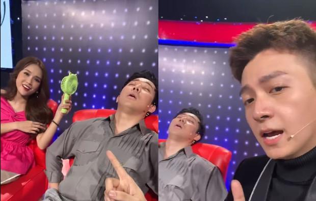 Đăng clip Trấn Thành ngủ trên sân khấu, Ngô Kiến Huy nhanh chóng bị nghiệp quật