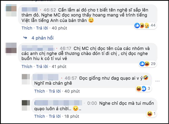 MC thảm đỏ AAA 2019 hứng gạch vì dẫn kém duyên, còn đọc sai tên nghệ sĩ