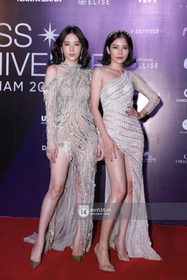 Dàn mỹ nhân, nghệ sĩ đình đám đua nhau đọ sắc vóc lộng lẫy trên thảm chung kết Hoa hậu Hoàn vũ Việt Nam 2019