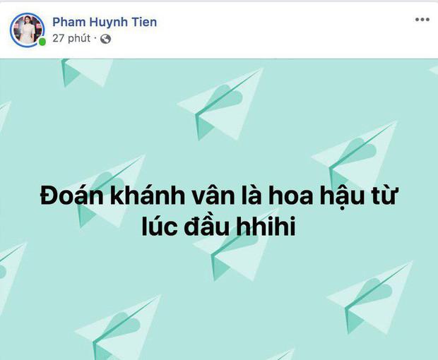 Bảo Thy và dàn sao Việt gửi lời chúc mừng Nguyễn Trần Khánh Vân đăng quang ngôi vị Tân Hoa hậu Hoàn vũ Việt Nam 2019