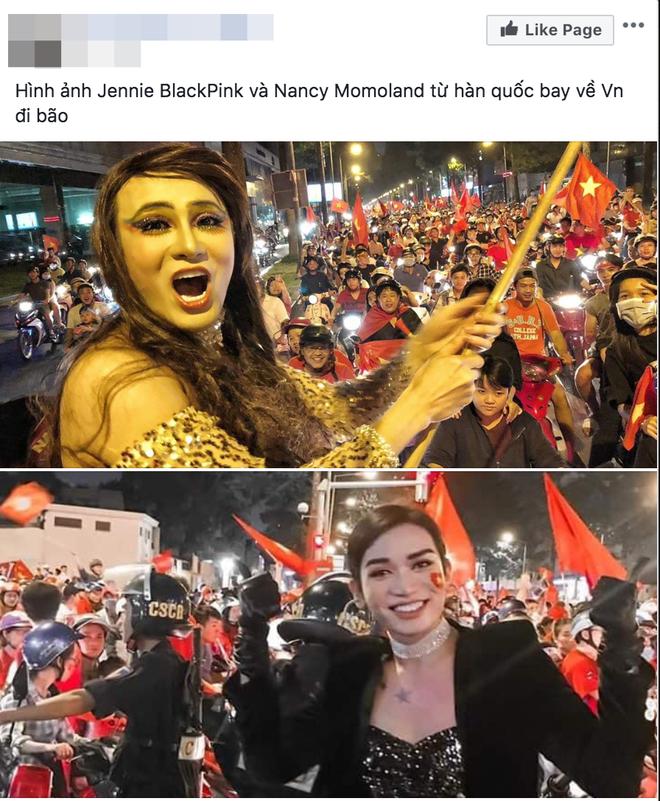 Jennie đô con sáng ở Trung Quốc dự event mà tối đã kịp bay về Việt Nam đi bão ăn mừng vô địch SEA Games?
