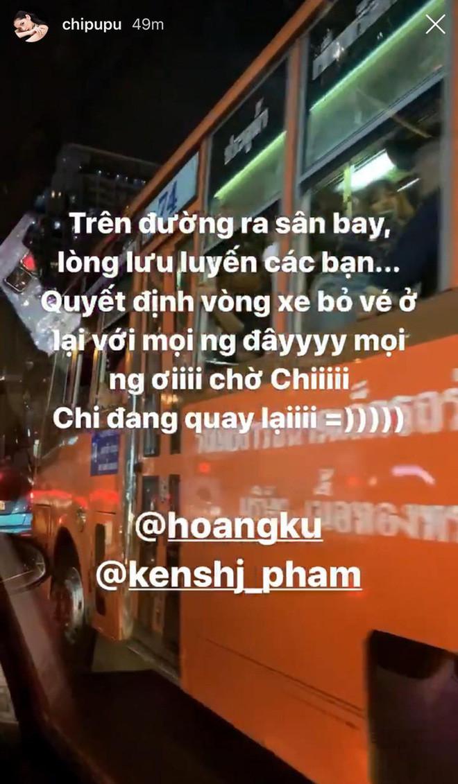 Chi Pu vừa ở Thái Lan đã thấy bay sang Hàn, còn rủ mỹ nhân AOA ăn uống chill đến đêm