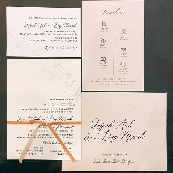 Quỳnh Anh khoe váy cưới thiết kế chuẩn từng milimet được Duy Mạnh tặng riêng trước ngày kết hôn