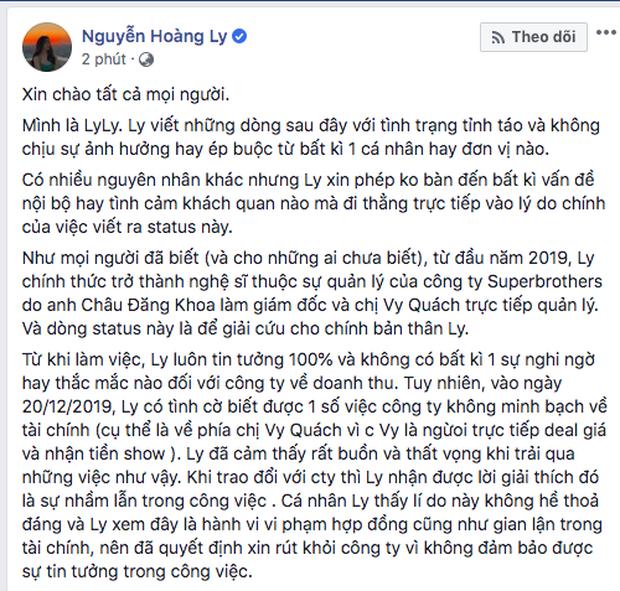 Vbiz liên tục bùng nổ drama quản lý - nghệ sĩ: Từ Sơn Tùng, Jack đến Orange và Lyly, đa số đổ bể chỉ vì một chữ... tiền!