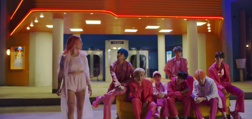 Chẳng nói chẳng rằng, BTS đánh úp fan bằng teaser MV kết hợp cùng Halsey