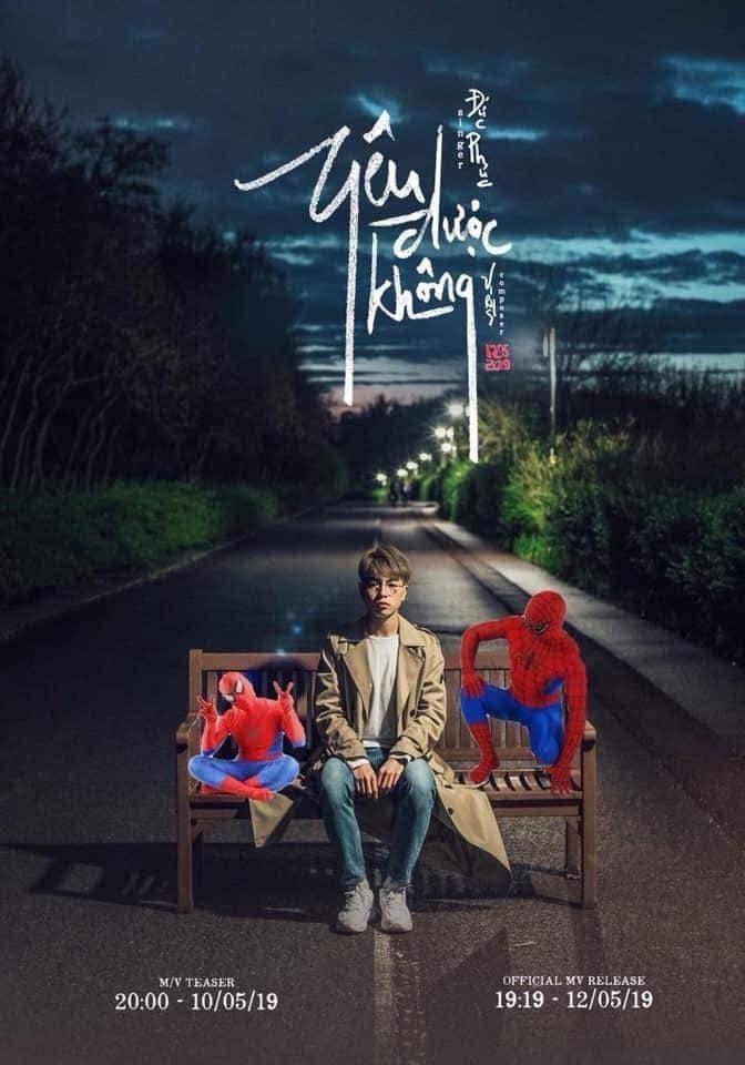 Đức Phúc tung poster thả thính MV Yêu được không và cái kết không thể đáng yêu hơn từ CĐM