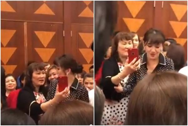 Nghi vấn Hari Won bị tố chảnh chọe khi từ chối chụp ảnh chung với khán giả lớn tuổi