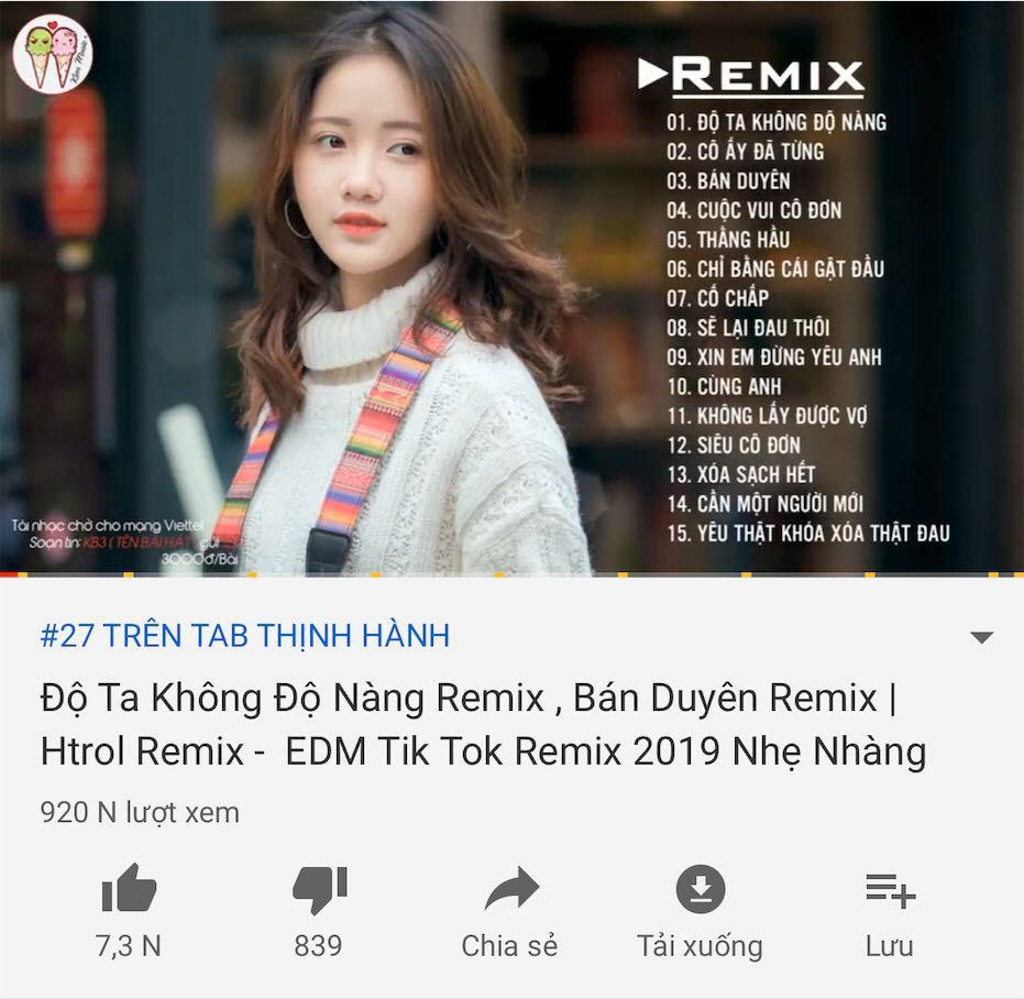 Hiếm hoi lắm khán giả Việt mới thấy cảnh này: 9 phiên bản của cùng 1 ca khúc đều lọt top trending!