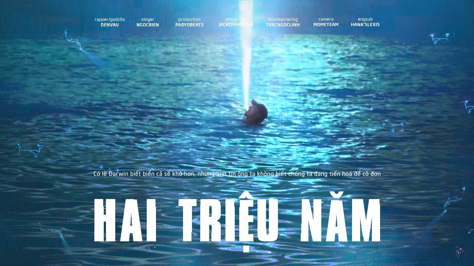 Đen Vâu ngâm nước biển để làm MV và cái kết trở thành bức ảnh chế hot nhất MXH