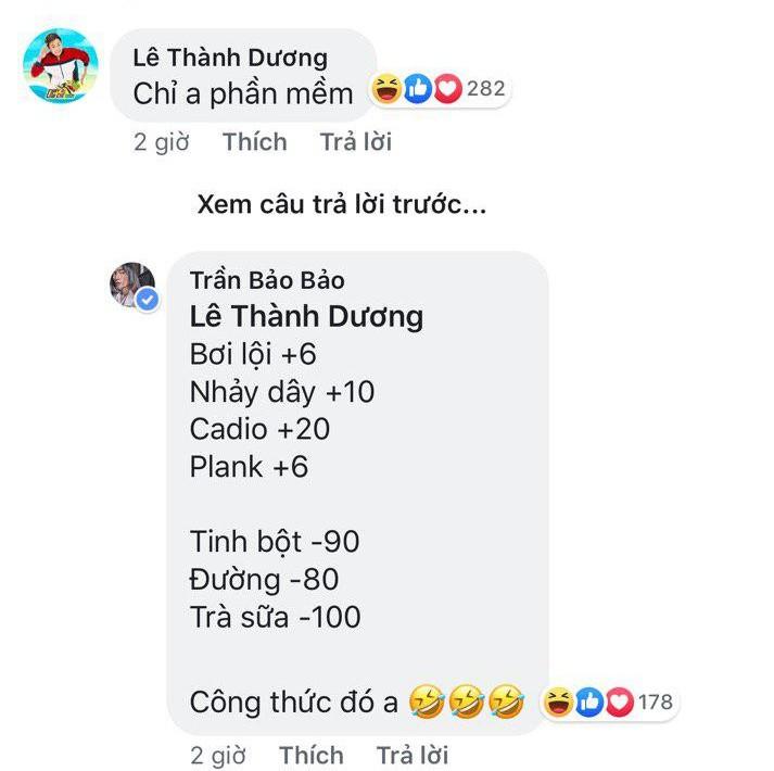 BB Trần khoe 6 múi rất gì và này nọ nhưng bị Ngô Kiến Huy nghi ngờ dùng app chỉnh sửa