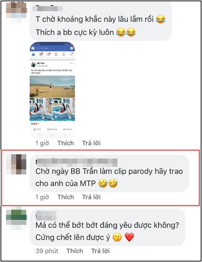 BB Trần xuất hiện độc đáo cạnh dàn mỹ nữ trong MV của Sơn Tùng M-TP khiến fan rần rần mong chờ Hãy trao cho anh phiên bản parody!