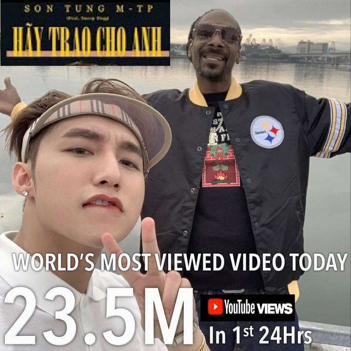 Màn comeback bùng nổ của Sơn Tùng M-TP được World Music Awards khen ngợi, gọi là Hoàng tử nhạc pop