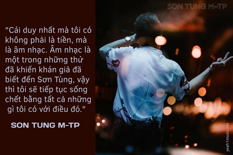 Điểm lại những câu nói đầy cảm xúc của Sơn Tùng M-TP để hiểu vì sao anh thành công đến thế