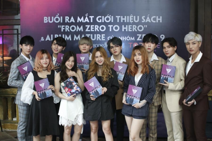 Zero 9 ra mắt sách, tiết lộ chi tiết từng bị đàn chị nổi tiếng chèn ép đến mất cả show