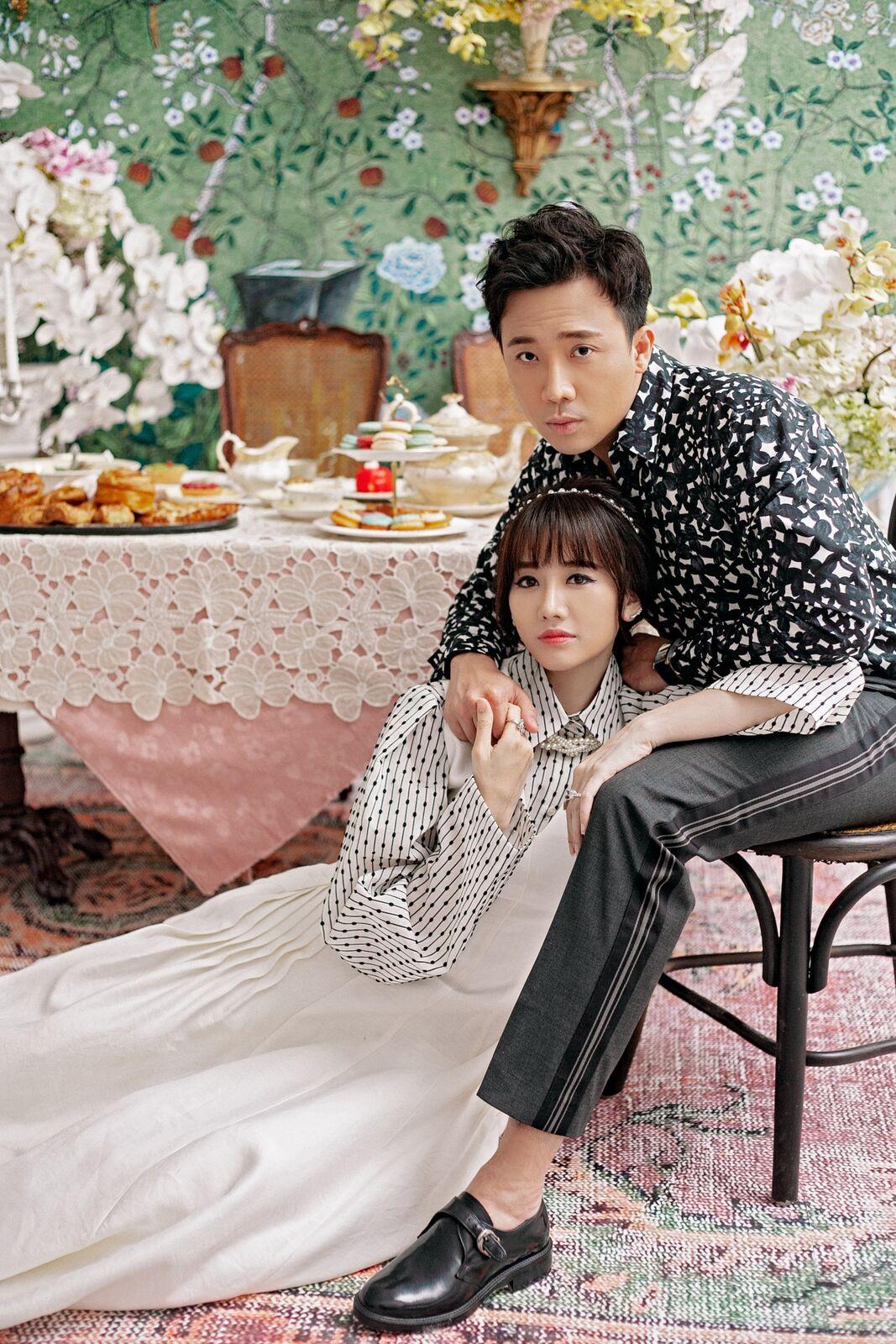 Lụi tim trước bộ ảnh siêu tình tứ của Hari Won và Trấn Thành, yêu hơn 3 năm vẫn hạnh phúc như ngày đầu