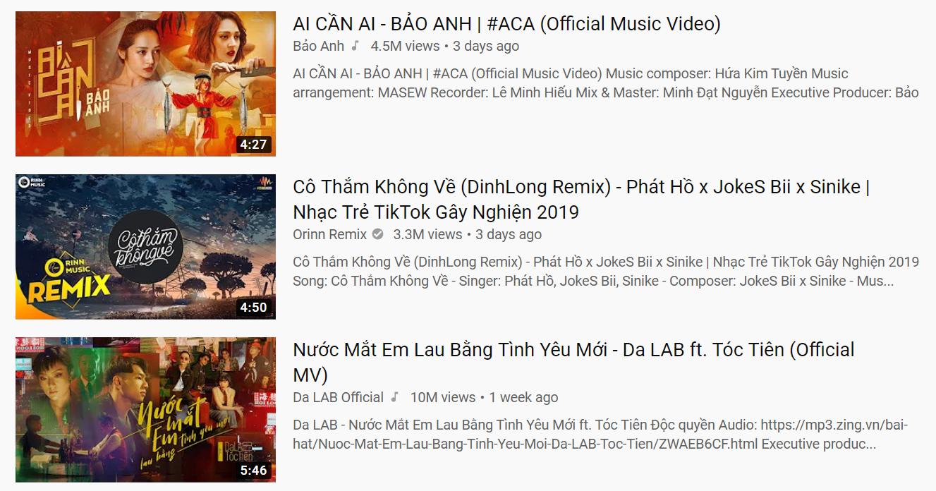 Hiện tượng âm nhạc bị nhận xét bắt chước Jack bất ngờ đứng top 2 trending YouTube