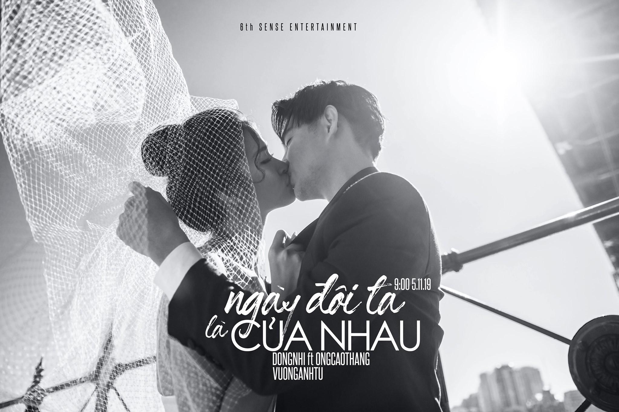 Đông Nhi khóa môi Ông Cao Thắng cực ngọt ngào, xác nhận ca khúc mới trước thềm đám cưới