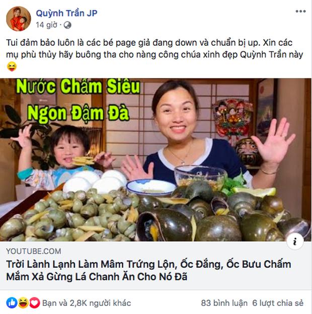 Quỳnh Trần JP thông báo đổi tên kênh sau khi bị YouTube tuýt còi