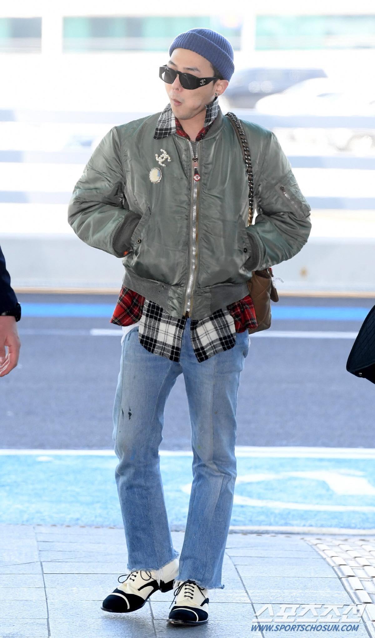 G-Dragon gây bão khi xuất hiện tại sân bay, sang Paris dự show thời trang