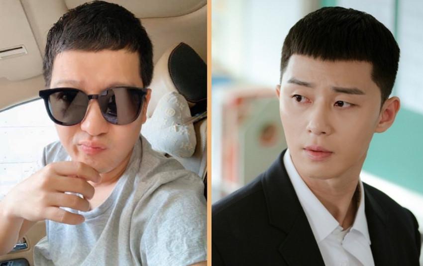 Bảo Thy bật cười khi chị dâu cho con trai cắt tóc như Park Seo Joon