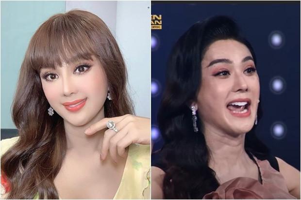 Nhan sắc thật của Lâm Khánh Chi lộ rõ trên sóng truyền hình: Dụi mắt 3 lần vẫn chưa tìm ra điểm chung!