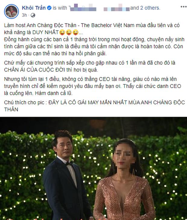 Pha Lê và Khôi Trần gây bão MXH với quan điểm yêu CEO: Không có CEO tài năng, giàu có nào lên truyền hình kiếm người yêu đâu!