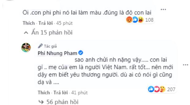 Tự hào khoe được con gái ở Mỹ gửi tiền về làm từ thiện, Phi Nhung bị antifan miệt thị là con lai liền đáp trả căng luôn!