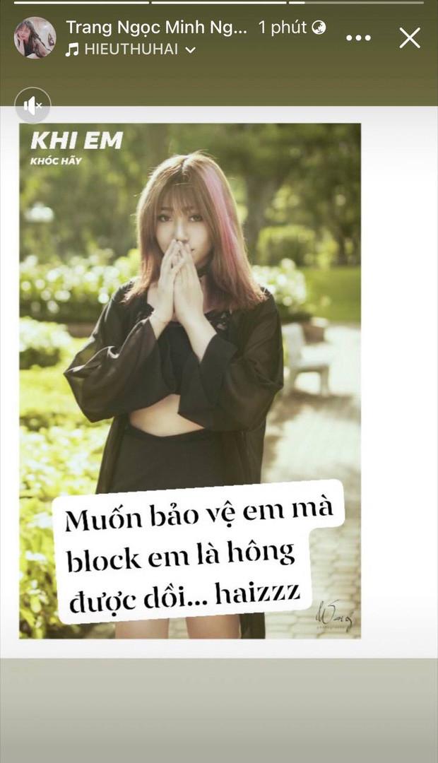 Đăng ảnh với Vinh Râu, Huỳnh Phương bị nghi đang cà khịa Lương Minh Trang chuyện liên tục đăng story sau ly hôn
